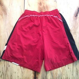 Nike Shorts - Men's Nike Dri-Fit Lacrosse Shorts XL Red / White